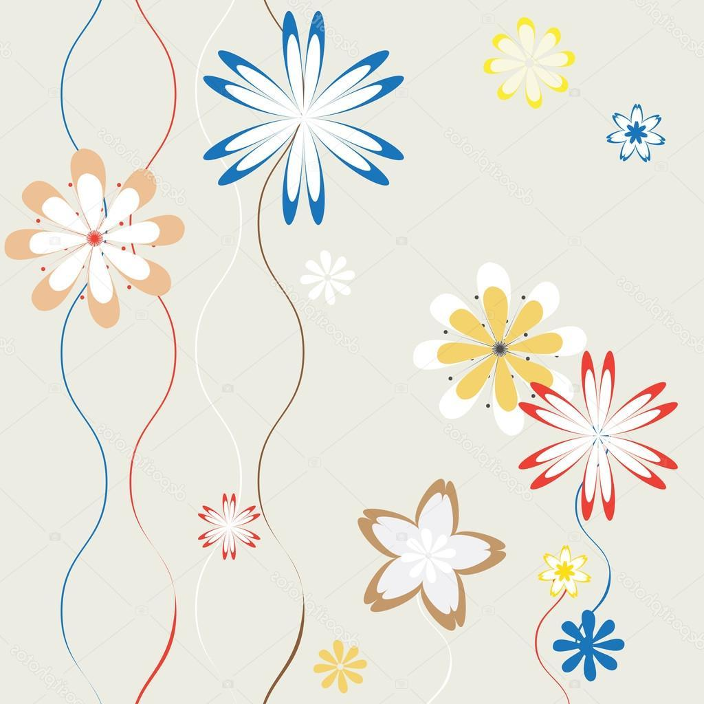 1024x1024 Best Hd Stock Illustration Spring Flowers Background For Art