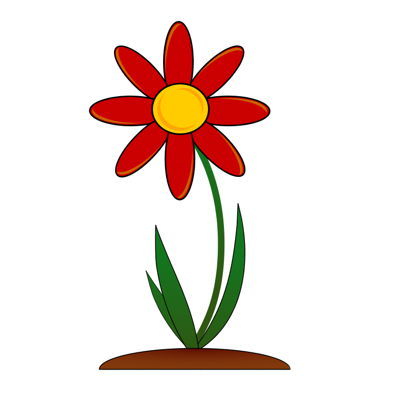 800x800 Flower Clip Art Free Download