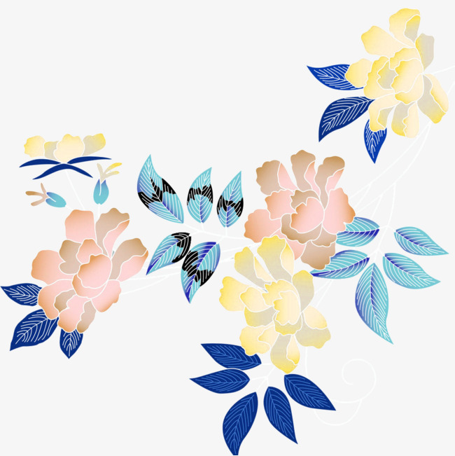 650x651 Flower Decoration, Flower, Flowers And Plants, Cartoon Hand