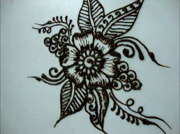 600x449 Awesome 15 Handy Tutorials On How To Draw A Flower All New
