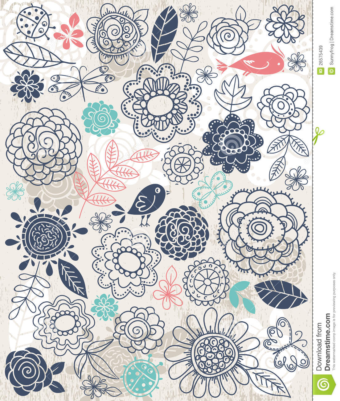 Flower Drawing Background At Getdrawings Free Download
