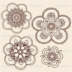236x236 Photos Flower Drawing Patterns,