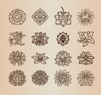 394x368 Vintage Flower Drawings Free Vector Download (102,776 Free Vector