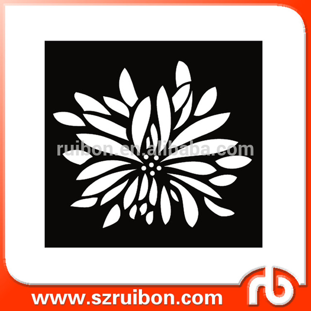 640x640 Plastic Flower Drawing Stencil Template Source Quality Plastic