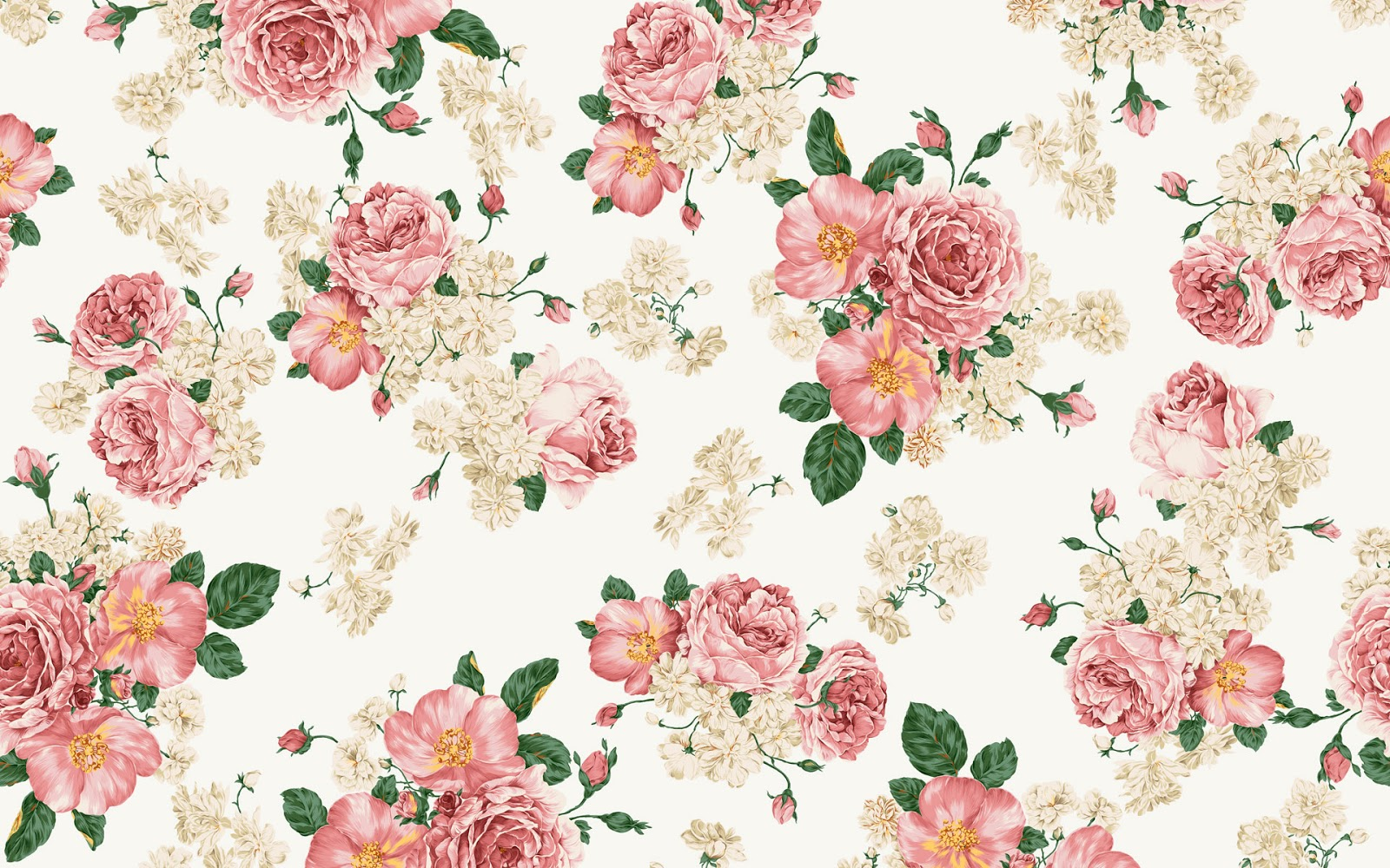 Flower drawing wallpaper at getdrawings free for personal use 1600x1000 vintage flower wallpaper mightylinksfo