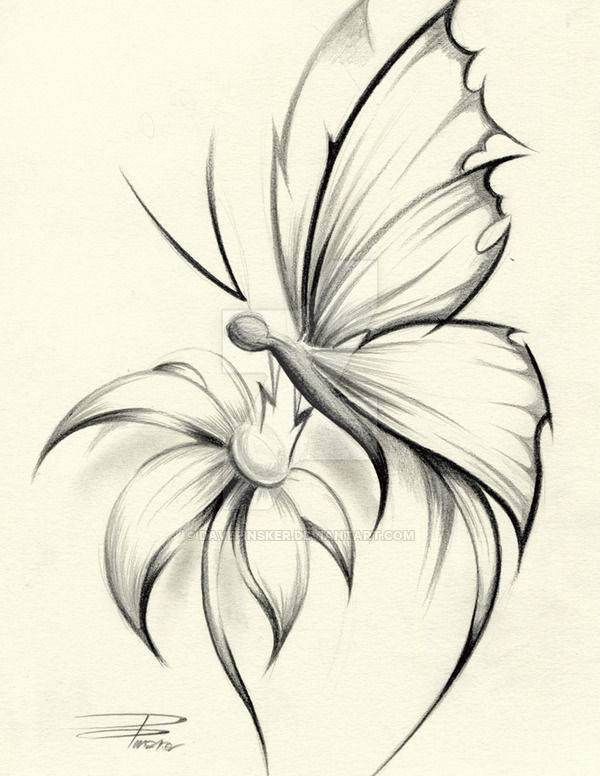 600x776 Flower Drawings, Art Ideas, Sketches Design Trends