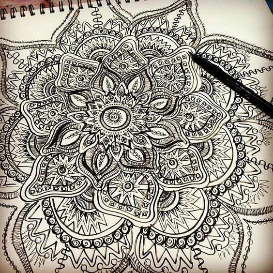 564x564 10 Best Mandala Doodles Images On Pinterest Doodle