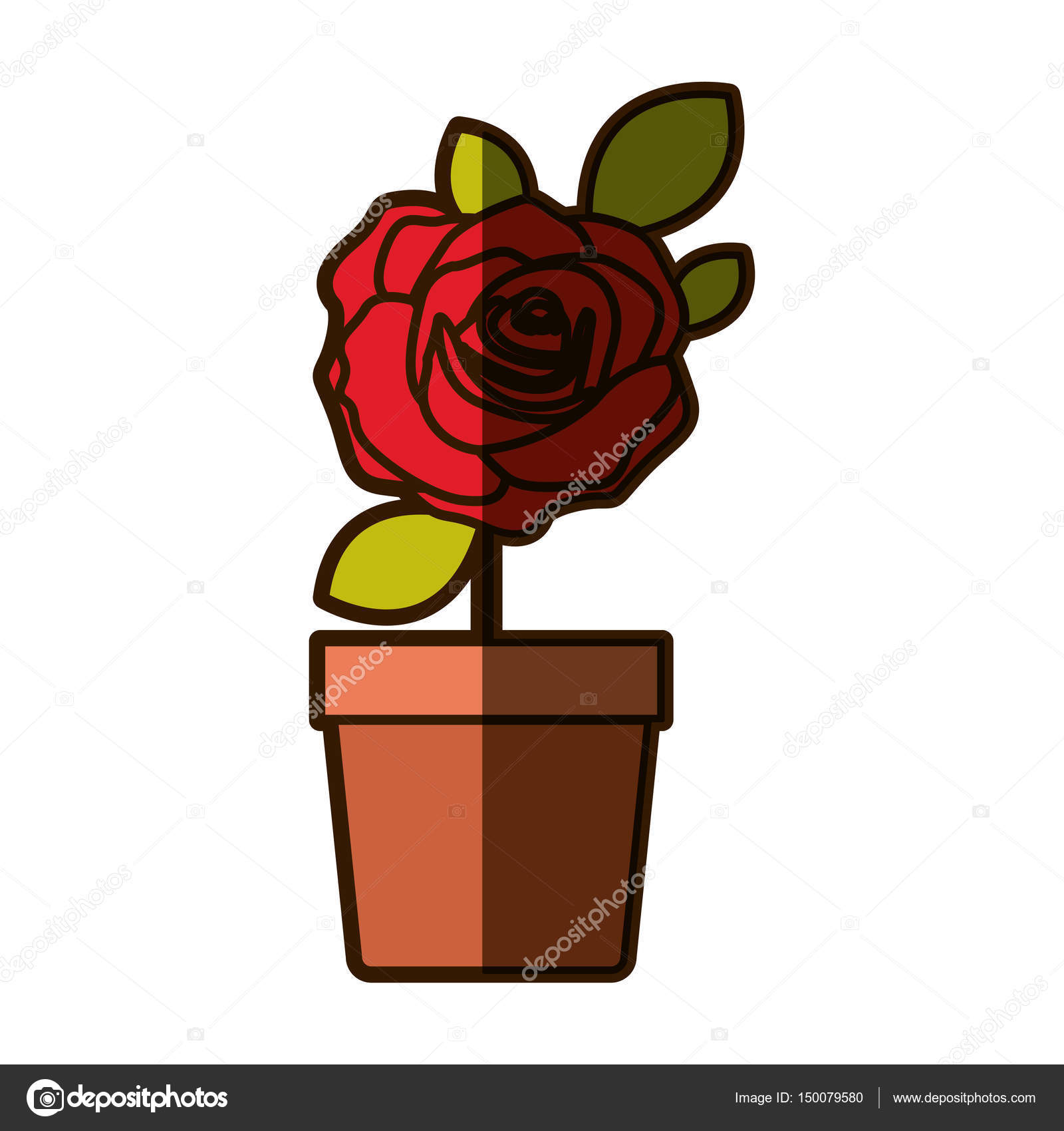 Flower Pot Drawing Images at GetDrawings.com | Free for personal use ...