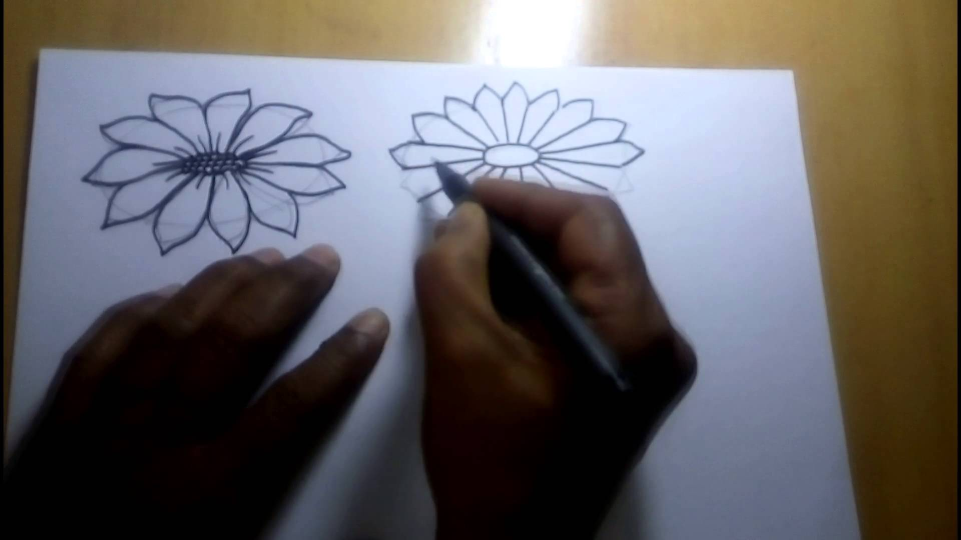 Flower Step By Step For Beginners Drawing At Getdrawings Com Free