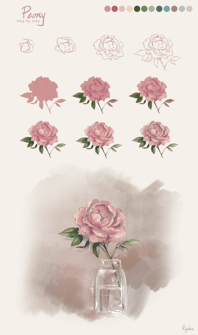 687x1161 Flower Tutorial