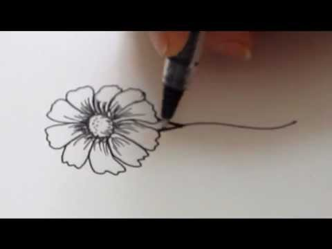480x360 How To Draw A Flower