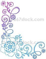 188x240 Flowering Vine Drawing Vines Vine Drawing, Doodles