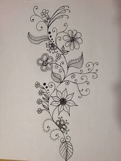 236x314 Drawings Of Rosd Vines Henna Inspired Design Ideas Leaves