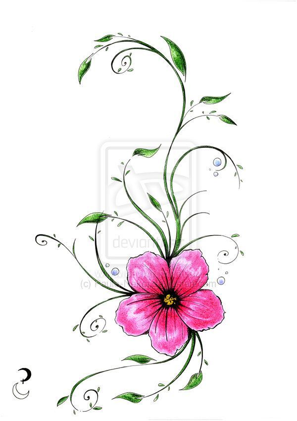 600x849 Image Result For Floral Tattoos Tattoos Tattoo