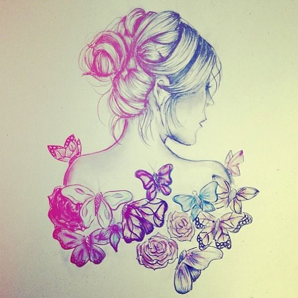 610x610 Drawing Flower More Amazing Drawings Beautiful Flower Art Drawing