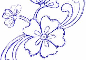 300x210 Pencil Sketches Of Flowers