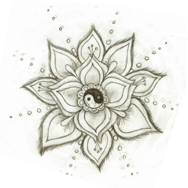 600x600 Tumblr Flowers Drawing Simple Flower Tumblr Drawings Design