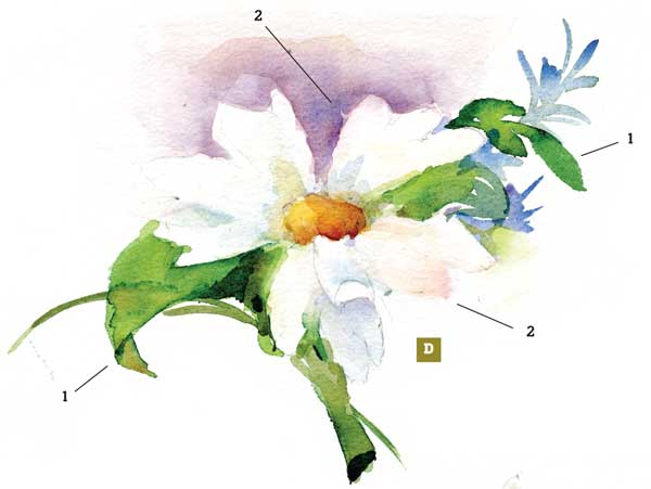 600x451 How To Paint A Watercolor Floral Still Life Step By Step Artist
