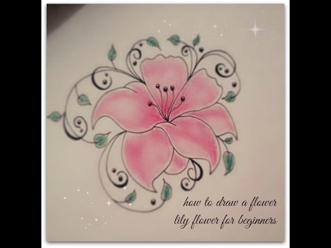 480x360 How To Draw Flowers For Beginners