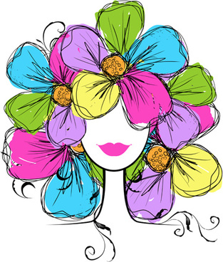 313x368 Vector Flower Pots Drawing Free Vector Download (98,002 Free