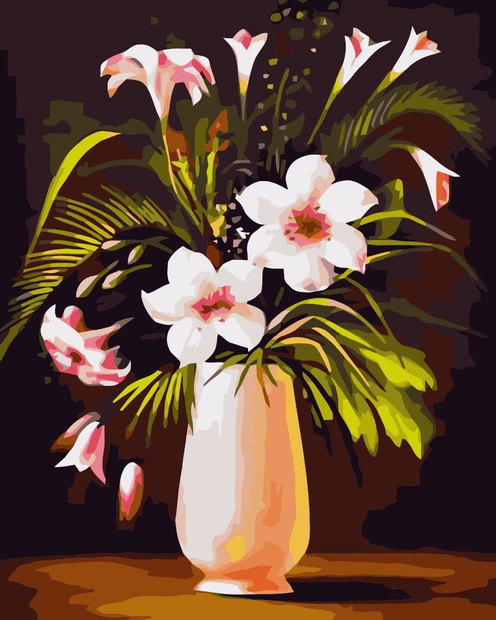 1000x1250 Gallery Drawing Of New Flowers In Vase,
