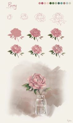 236x398 Image Detail For How To Draw A Flower Step By Step