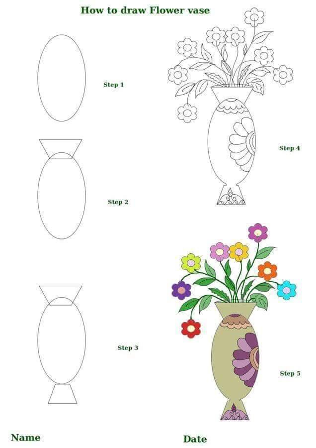 636x900 Pin By Kimberly Mecir On Draw Flowers N Plants S By S