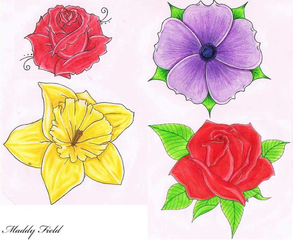 1024x843 Flowers Tumblr Drawing Cool Flower Drawings Tumblr
