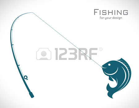 450x349 11,656 Fishing Rod Stock Vector Illustration And Royalty Free