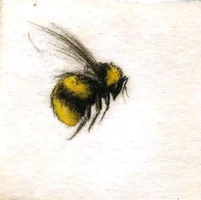 402x400 Cute Flying Bumble Bee Tattoo Design Bee Tattoo, Bumble Bees