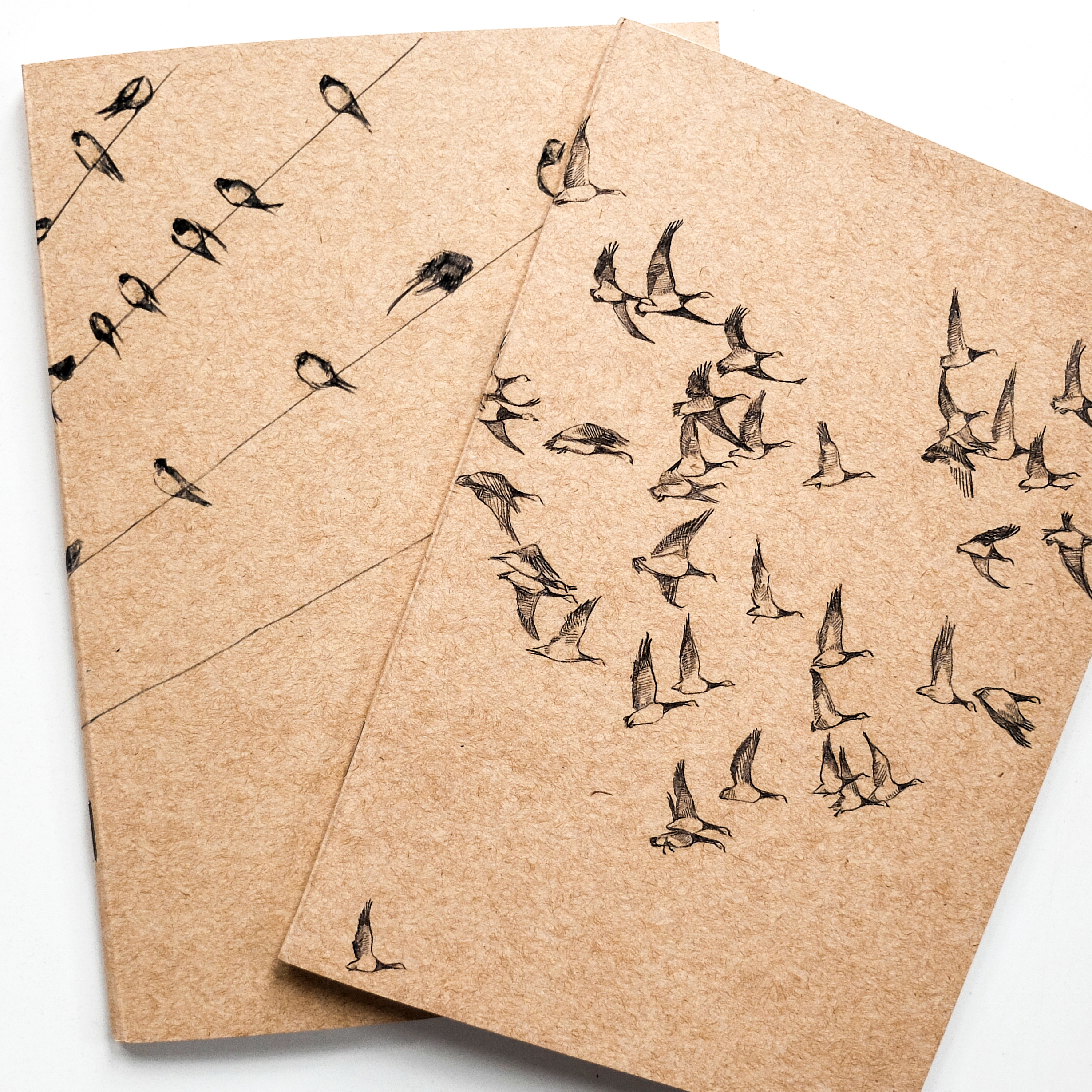 2460x2460 Flying Geese Notebook Eco Sketchbook Jotter