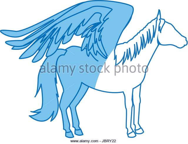 640x491 Winged Horse Stock Photos Amp Winged Horse Stock Images