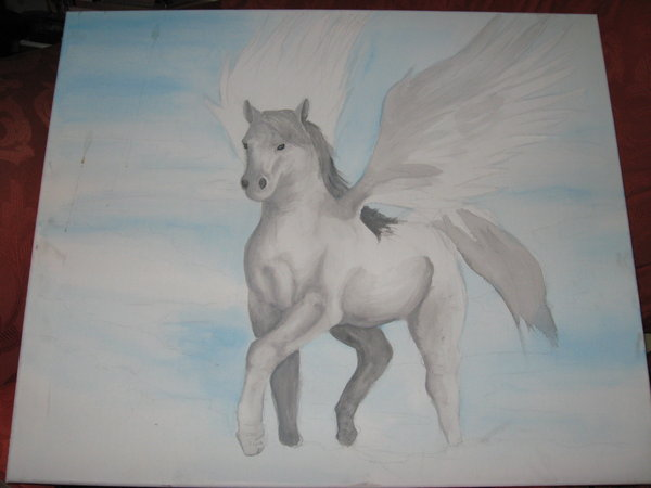 600x450 Flying Horse By Sketch11