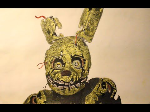 480x360 how to draw spring trap from fnaf 3