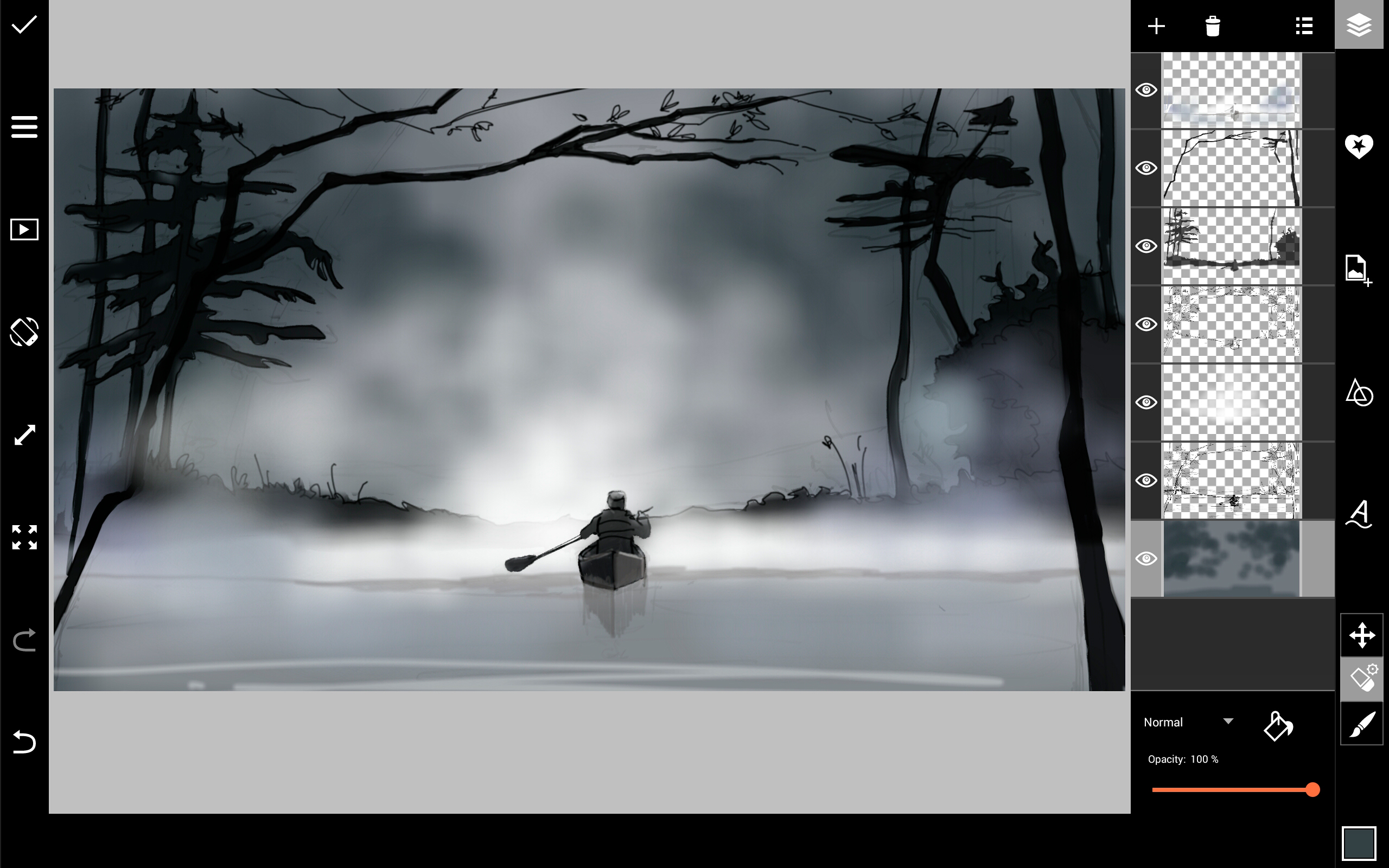 2560x1600 How To Draw Fog With Picsart's Drawing Tools