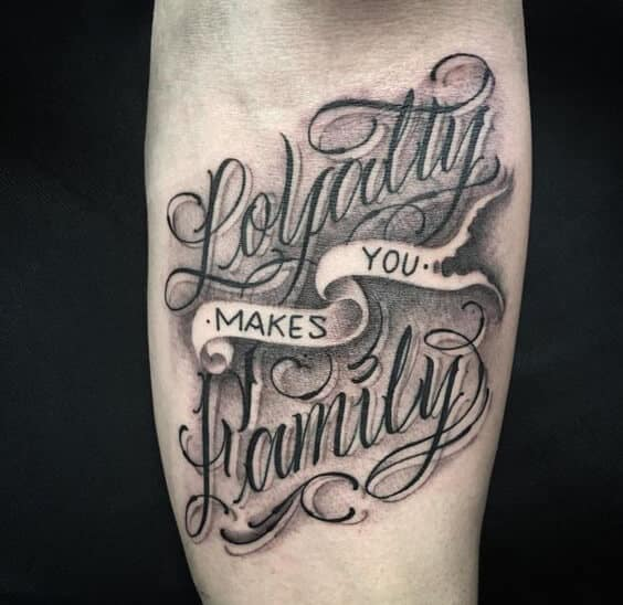 564x548 Tattoo Fonts Ideas For Men