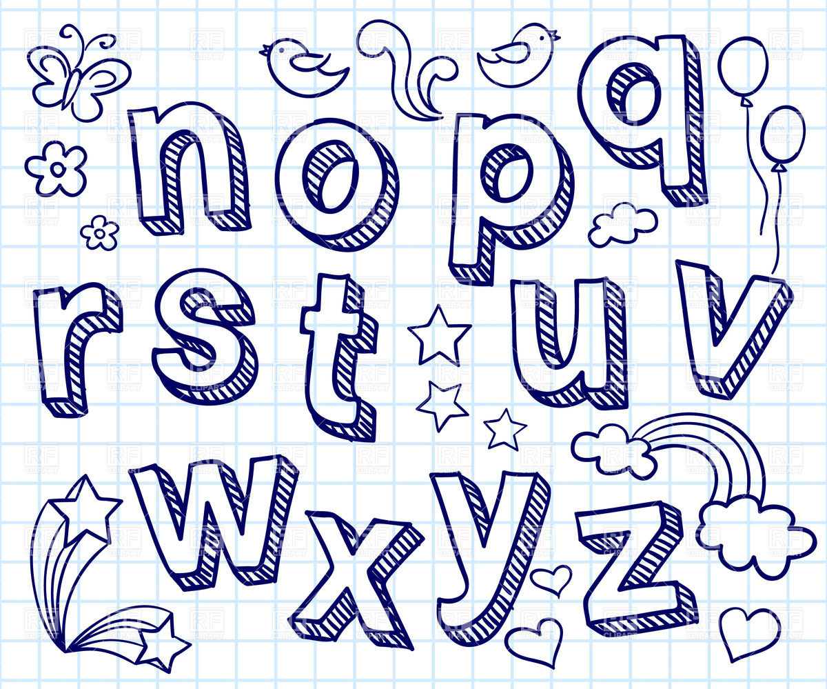 1200x999 Hand Lettering Fonts