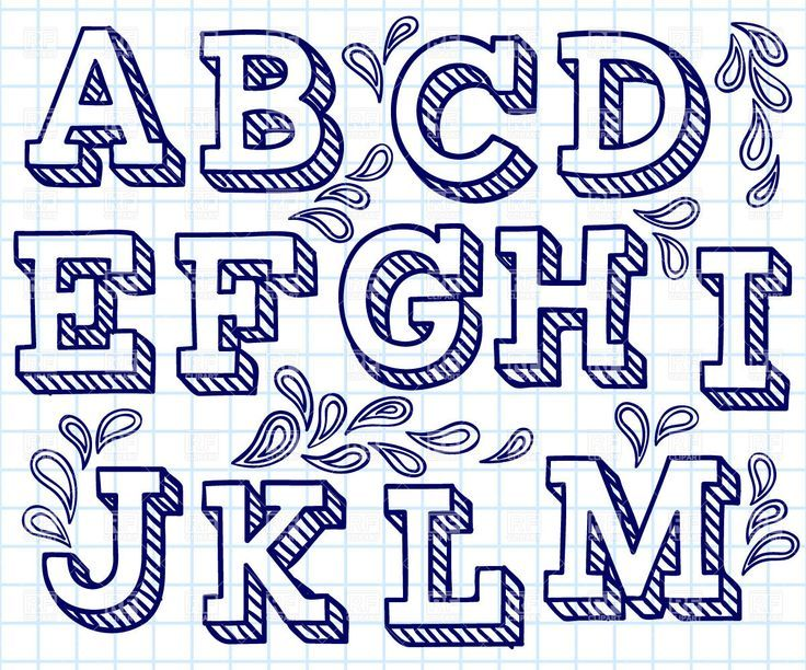 736x612 Hand Lettering Font Free Hand Drawn Font