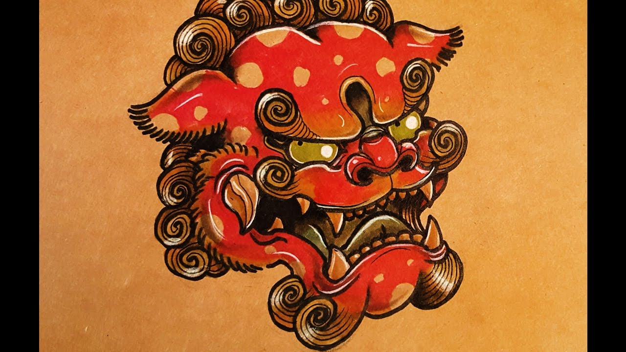 1280x720 How To Draw A Foo Dog