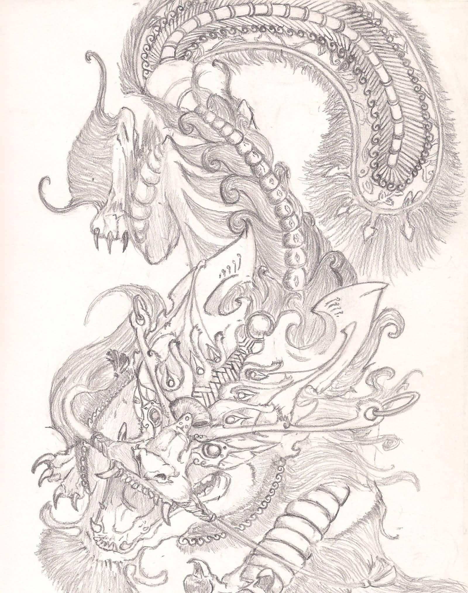 1600x2025 Superb Chinese Foo Dog Tattoo Design By Ronisamurai87