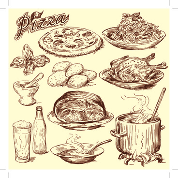 368x368 Food drawing free vector download (93,231 Free vector) for