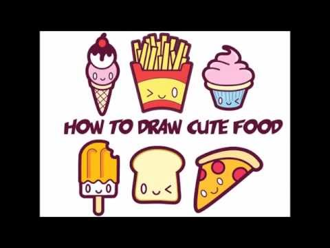 480x360 How To Draw Kawaii Food Easy Step By Step For Kids And Beginners