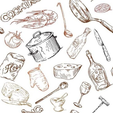 368x368 Hand Drawn Vector Food Free Free Vector Download (10,175 Free