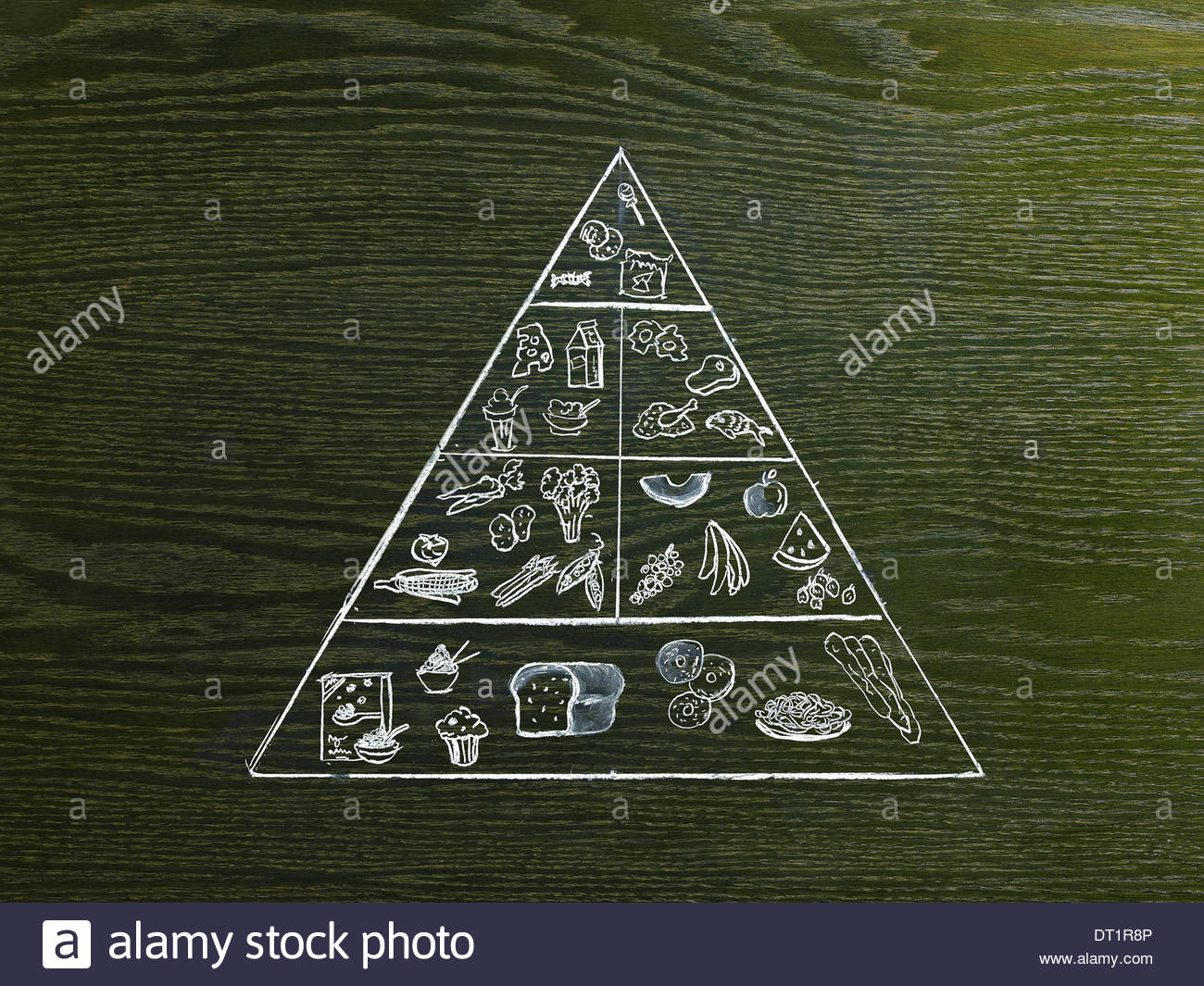 1300x1065 A Line Drawing Image On A Natural Wood Grain Background The Food