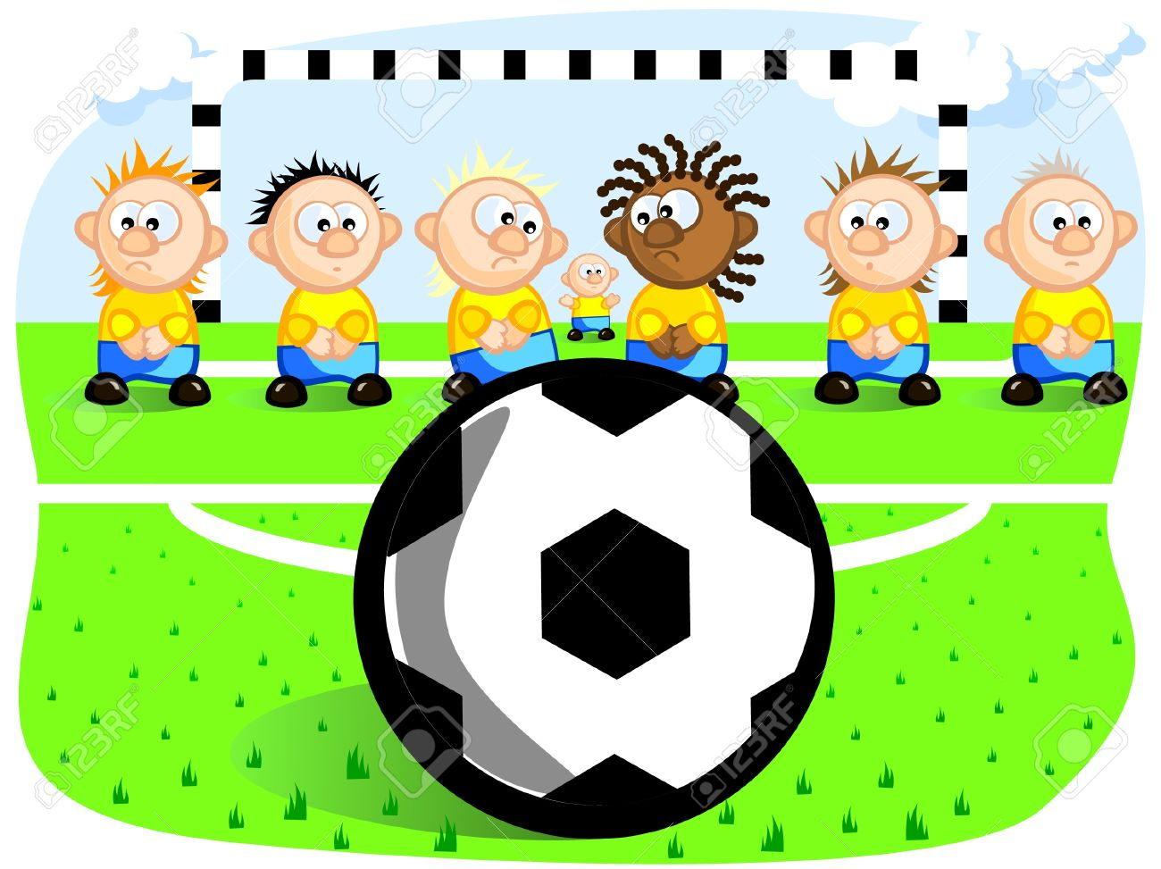 football cartoon drawing at getdrawings com free for personal use