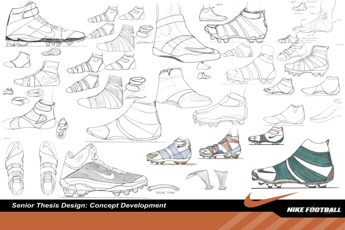 700x467 How To Draw A Soccer Cleat Step By Step