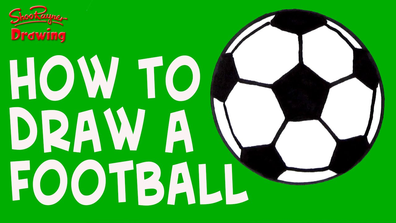 1280x720 How To Draw A Soccer Ball