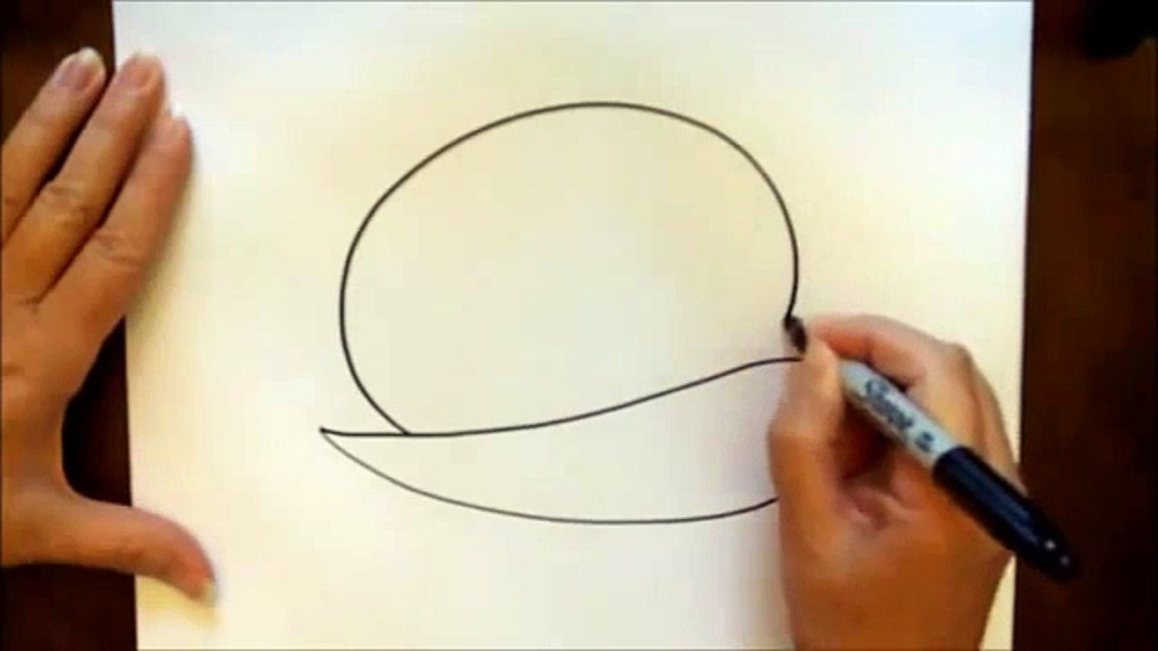 1280x720 How To Draw A Cartoon Football Player Easy