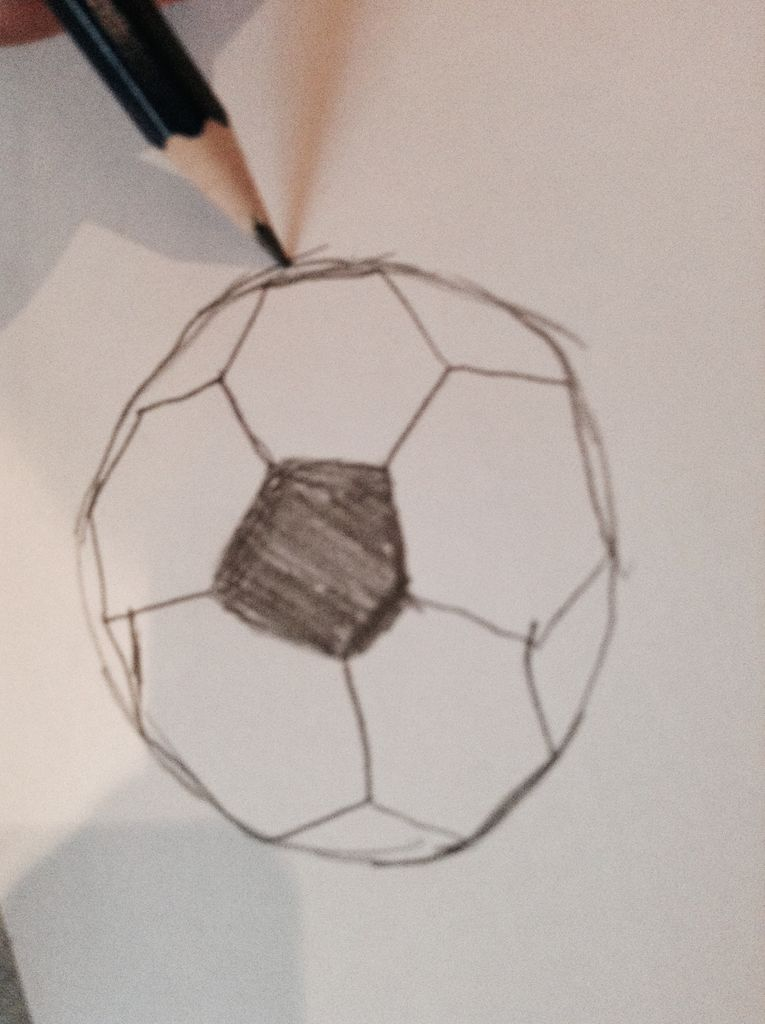 765x1024 How To Draw A Football