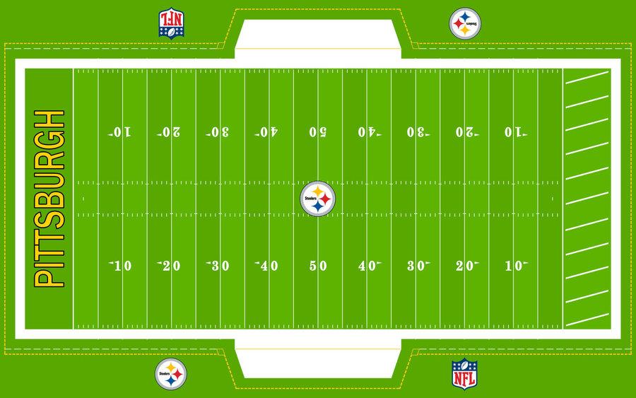 900x563 Drawing Football Field
